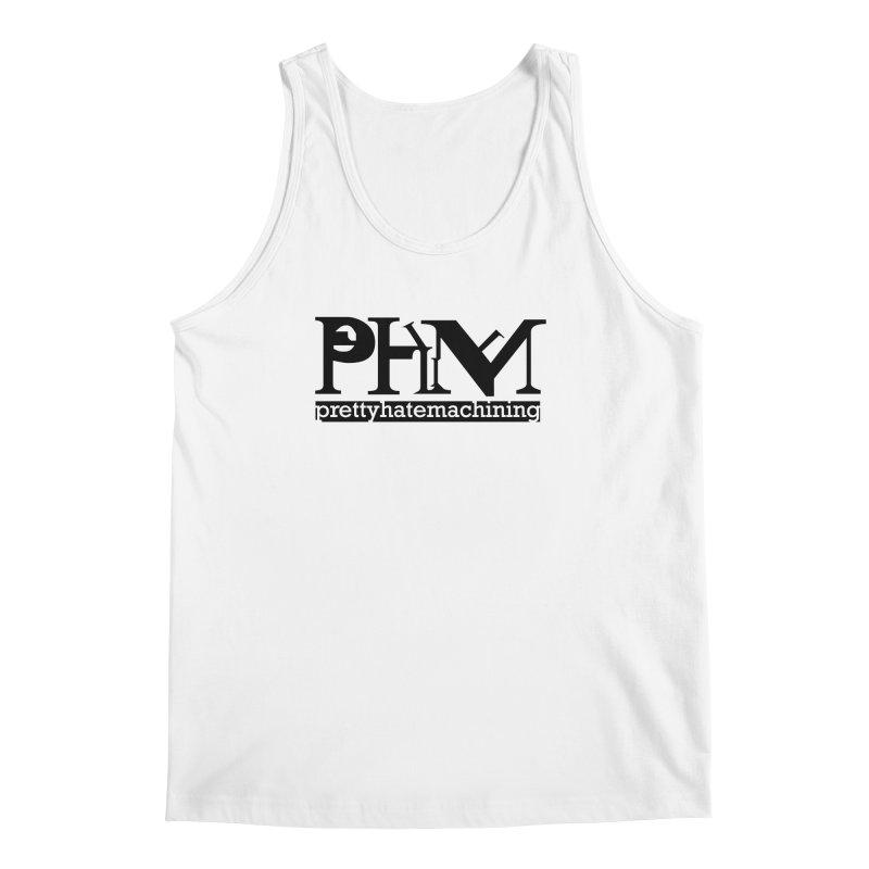 Black PHM logo Men's Regular Tank by Pretty Hate Machining's Artist Shop