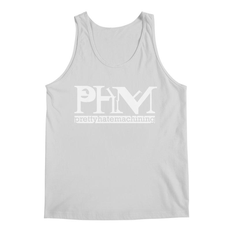 White PHM logo Men's Regular Tank by Pretty Hate Machining's Artist Shop