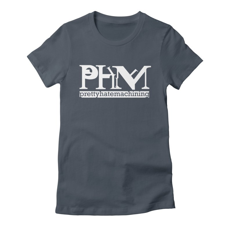 White PHM logo Women's T-Shirt by Pretty Hate Machining's Artist Shop