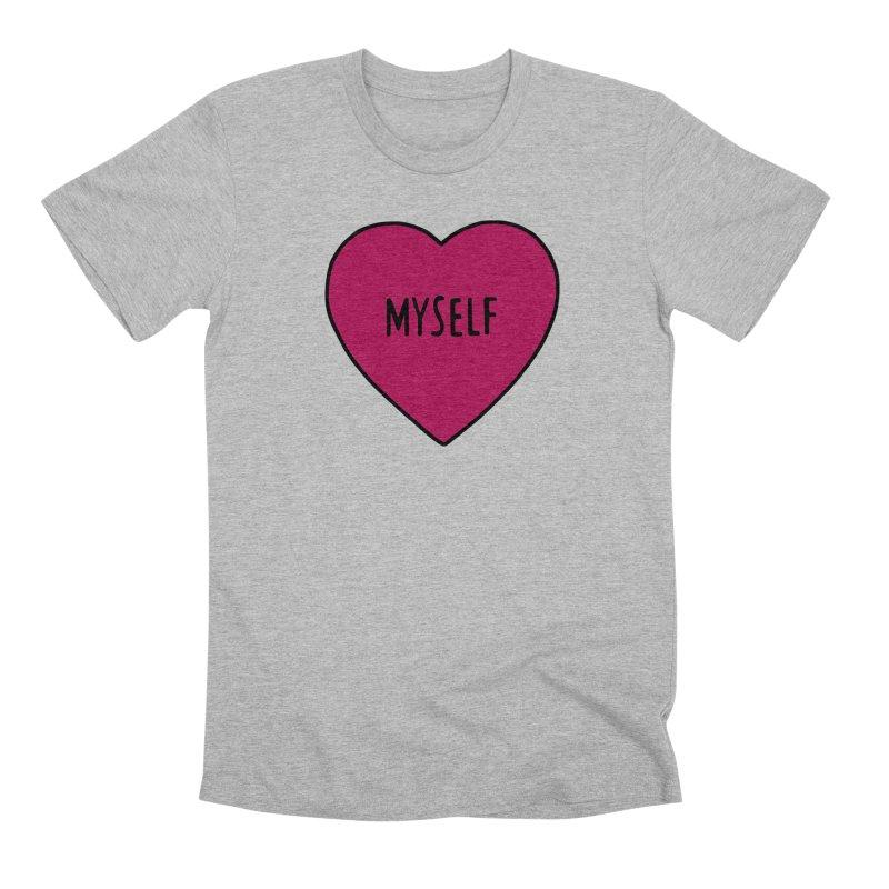 Myself Men's Premium T-Shirt by Pretty In Punk