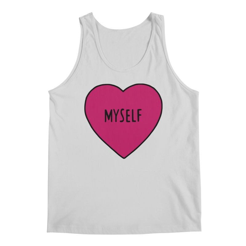 Myself Men's Regular Tank by Pretty In Punk