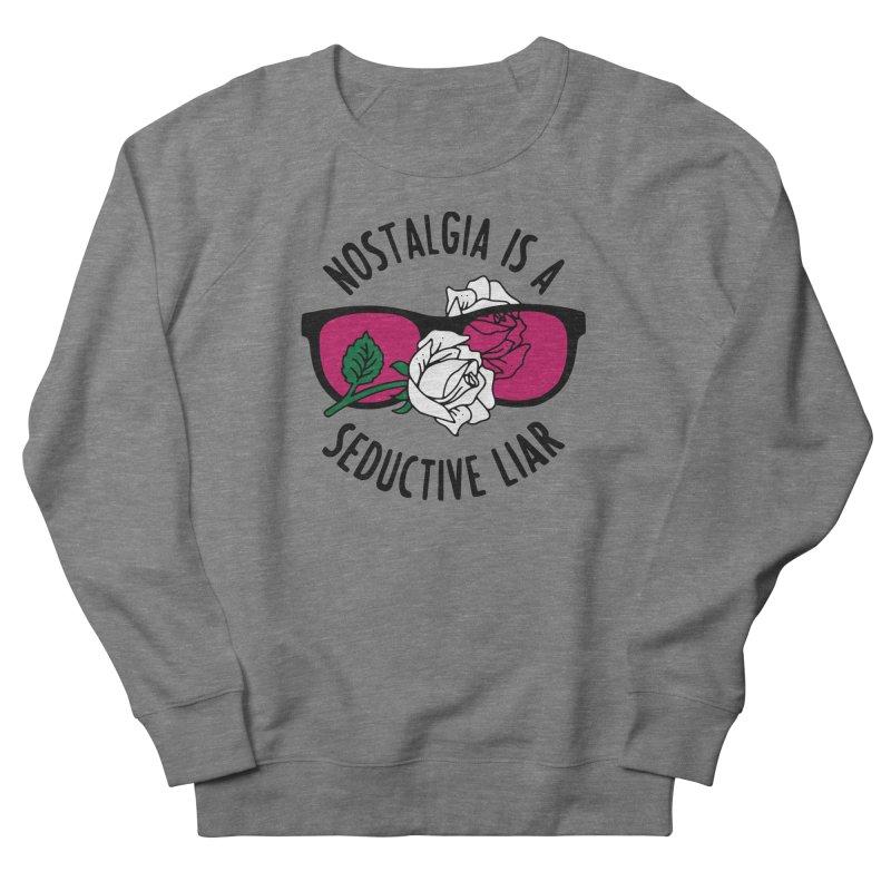Nostalgia Women's French Terry Sweatshirt by Pretty In Punk