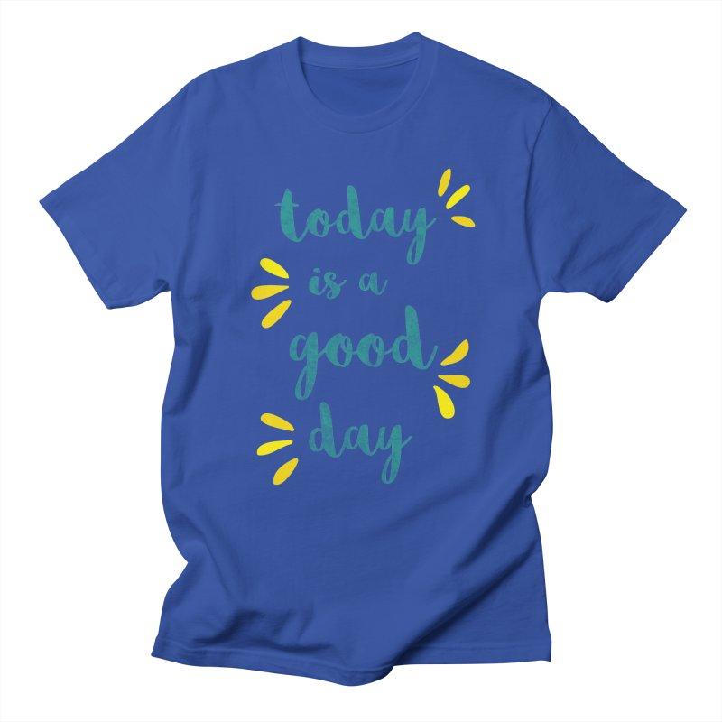Good Day Print Women's Regular Unisex T-Shirt by prettyprismatic's Artist Shop