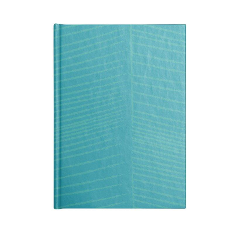 Herringbone - Teal Accessories Notebook by prettyprismatic's Artist Shop