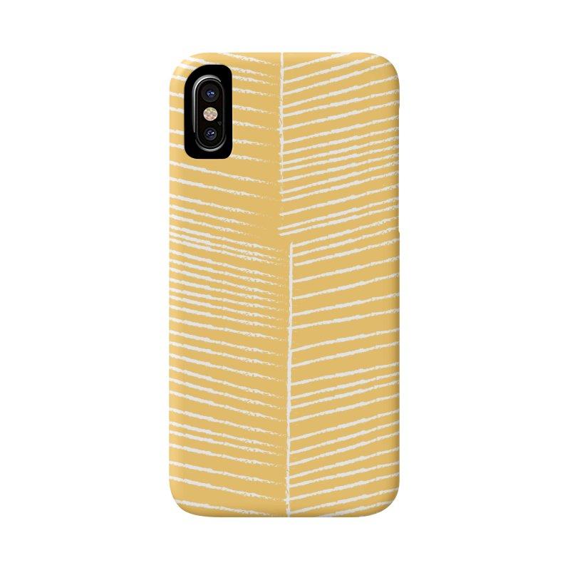 Herringbone - Marigold Accessories Beach Towel by prettyprismatic's Artist Shop