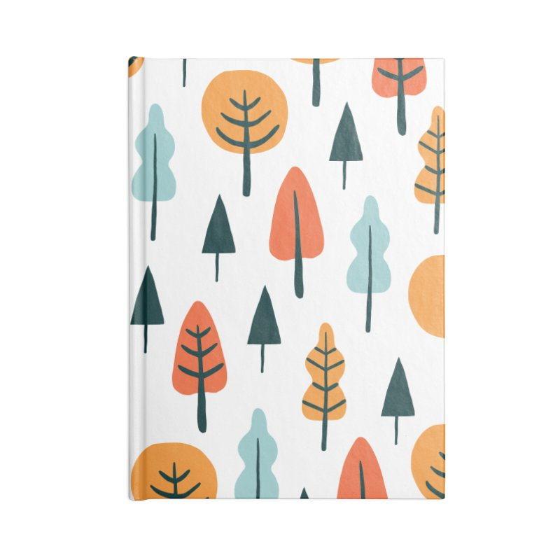 Fancy Forest  Accessories Blank Journal Notebook by prettyprismatic's Artist Shop