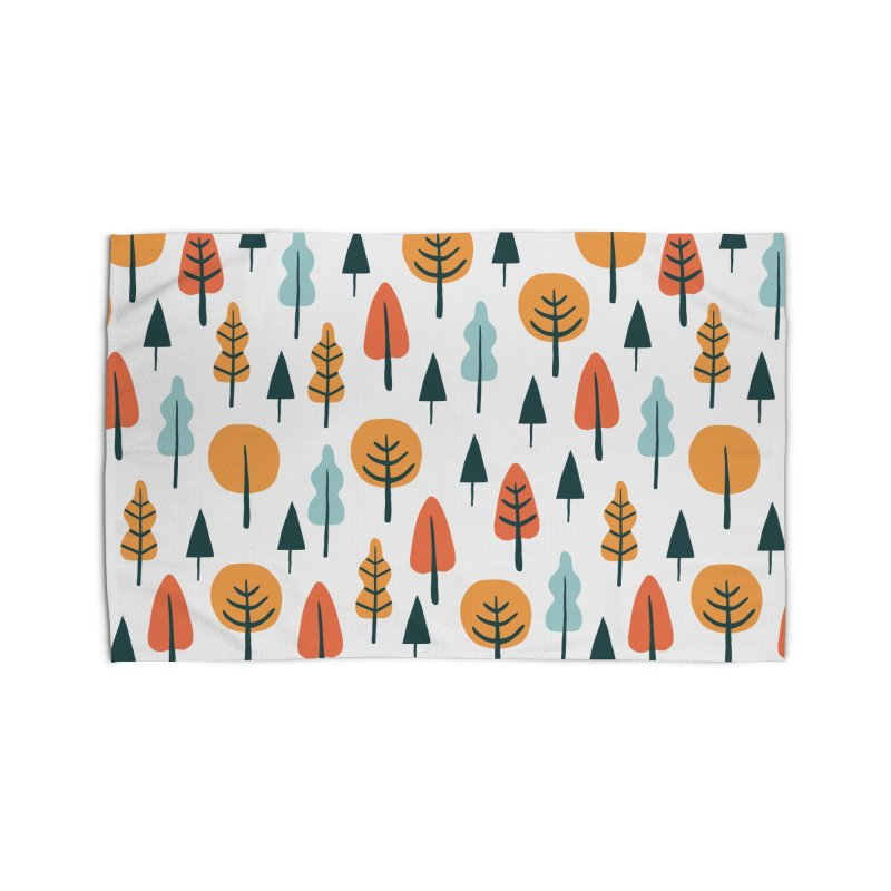Fancy Forest  Home Rug by prettyprismatic's Artist Shop