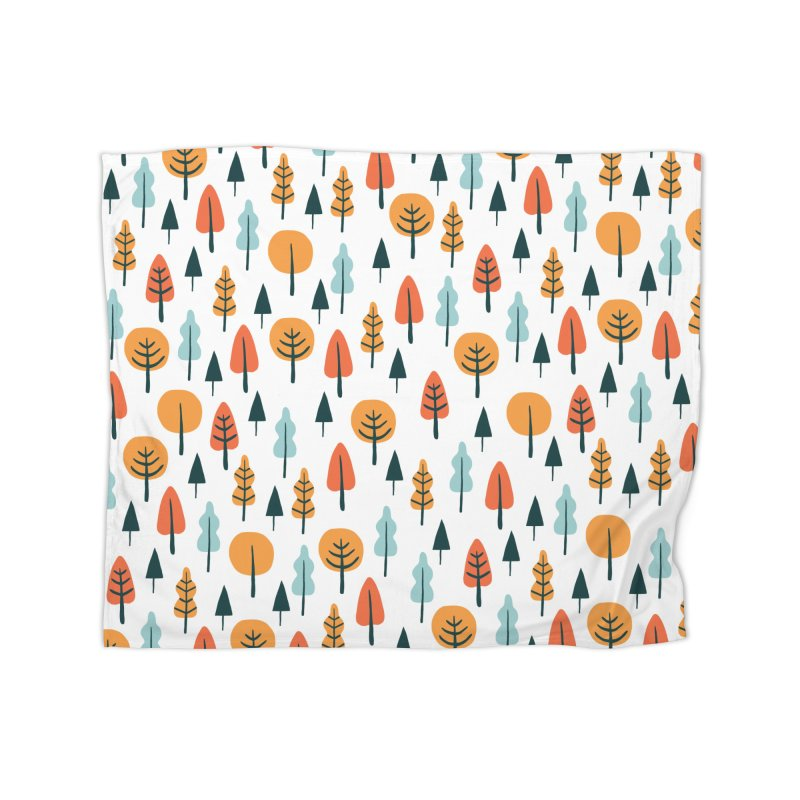 Fancy Forest  Home Blanket by prettyprismatic's Artist Shop