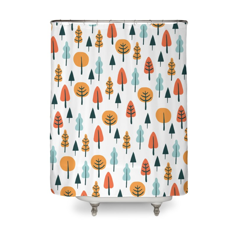 Fancy Forest  Home Shower Curtain by prettyprismatic's Artist Shop
