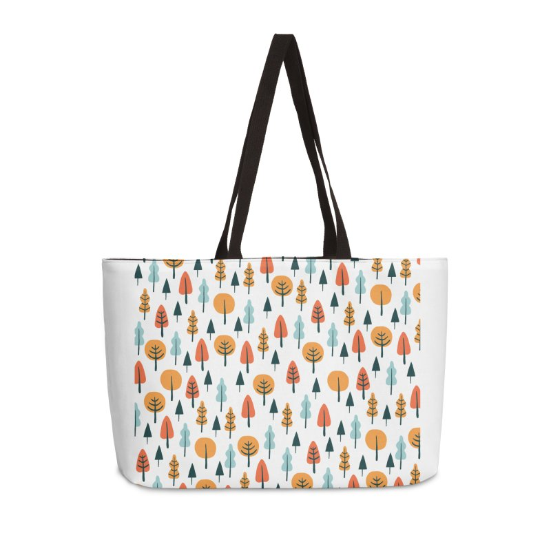 Fancy Forest  Accessories Weekender Bag Bag by prettyprismatic's Artist Shop