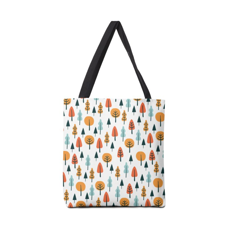 Fancy Forest  Accessories Bag by prettyprismatic's Artist Shop