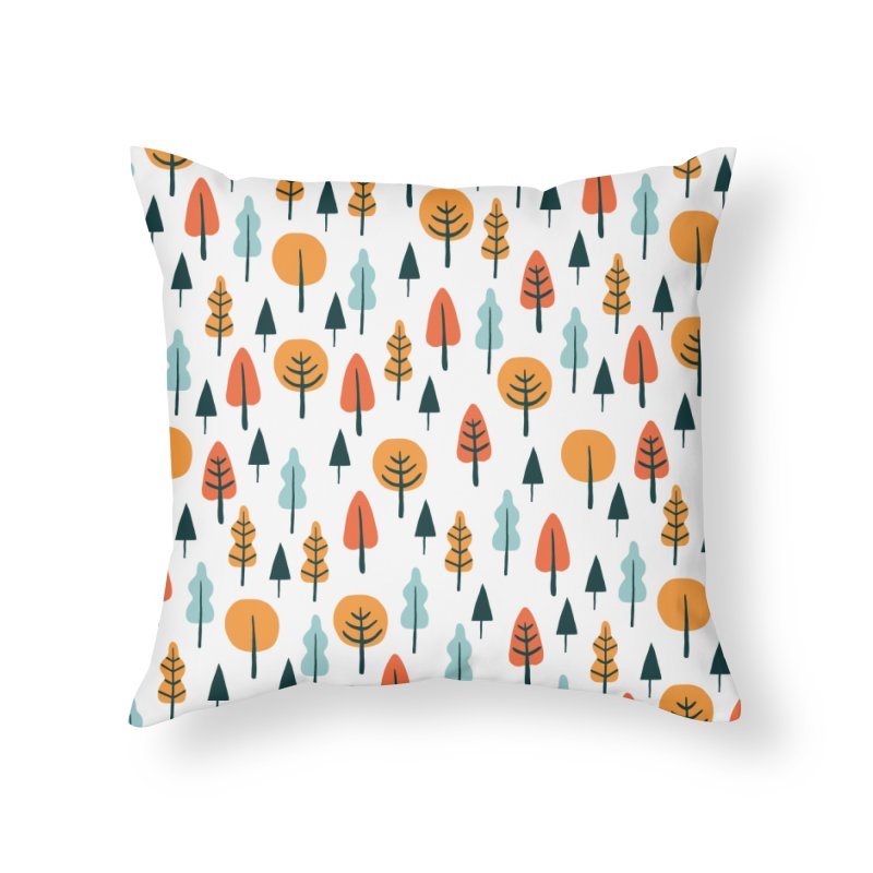 Fancy Forest  Home Throw Pillow by prettyprismatic's Artist Shop