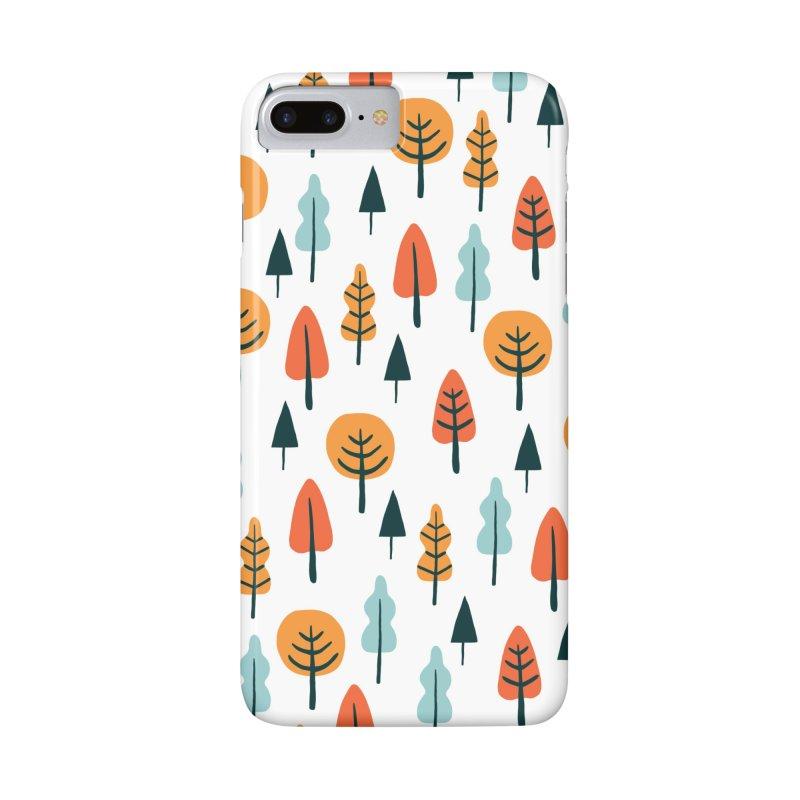 Fancy Forest  Accessories Phone Case by prettyprismatic's Artist Shop