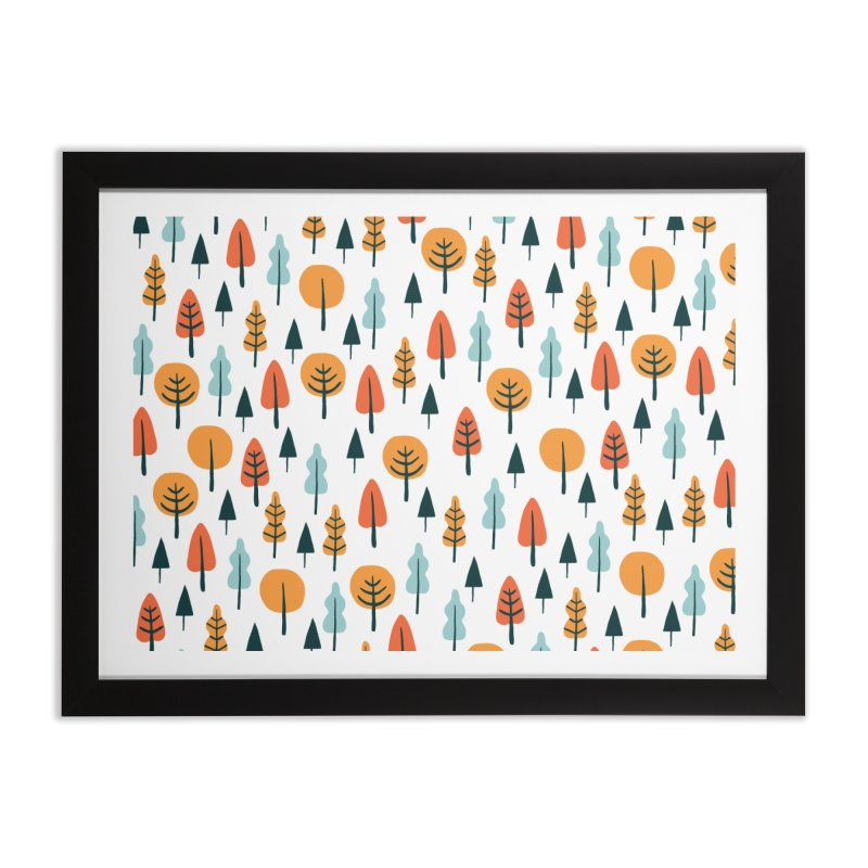Fancy Forest  Home Framed Fine Art Print by prettyprismatic's Artist Shop