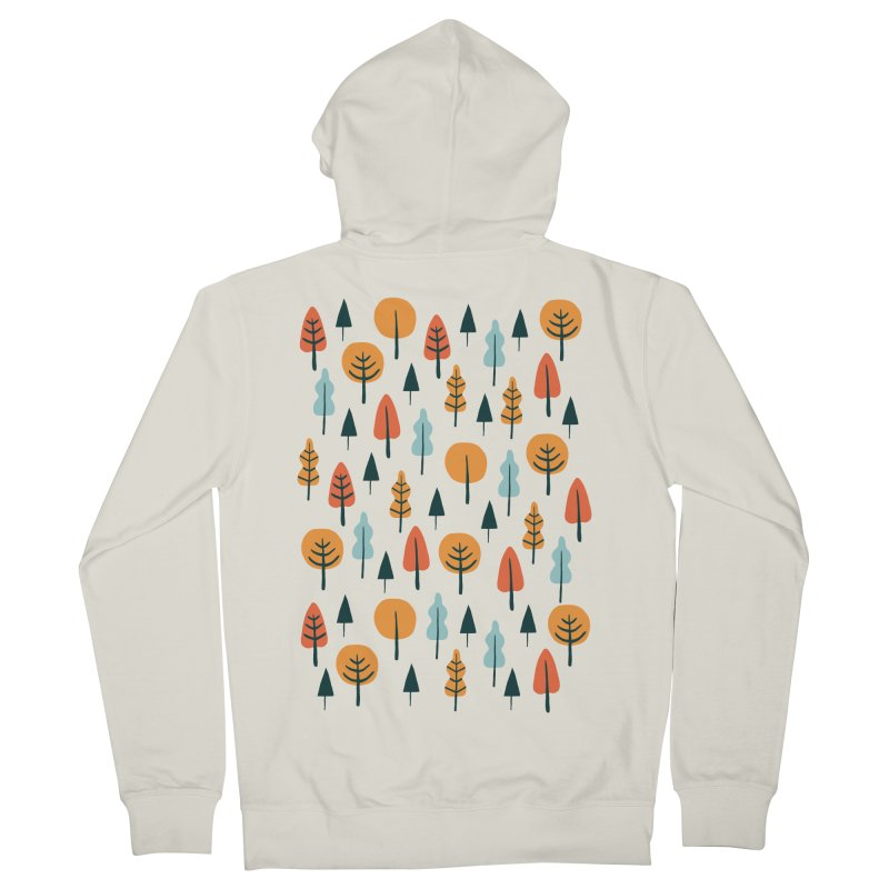 Fancy Forest  Men's Zip-Up Hoody by prettyprismatic's Artist Shop