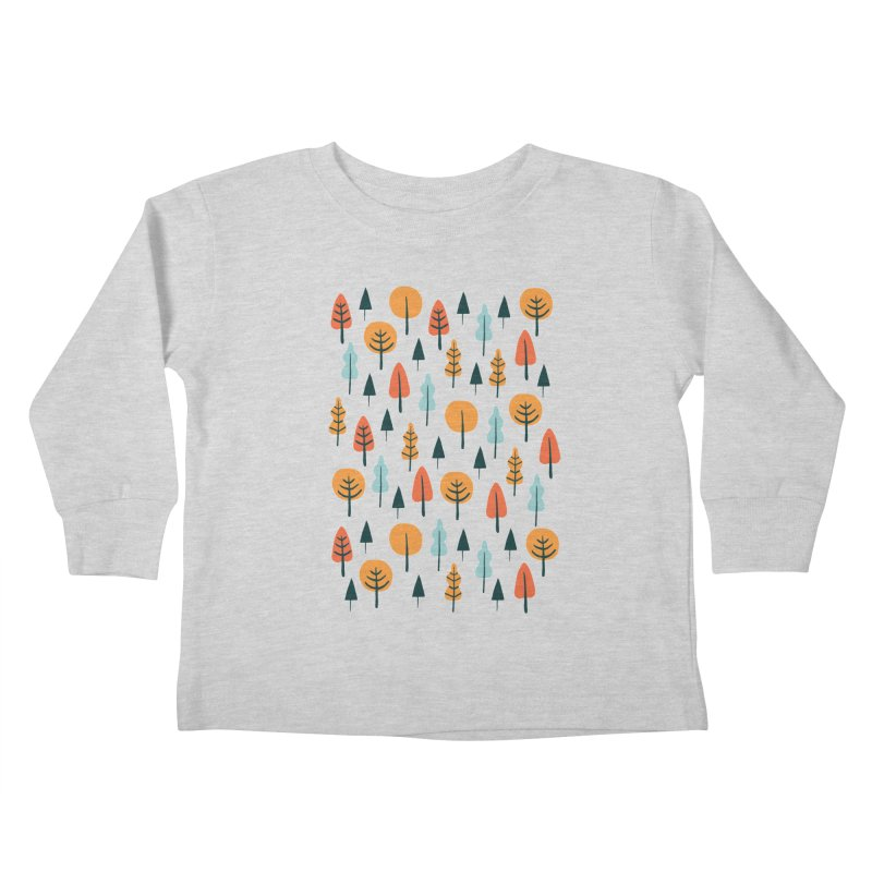 Fancy Forest  Kids Toddler Longsleeve T-Shirt by prettyprismatic's Artist Shop