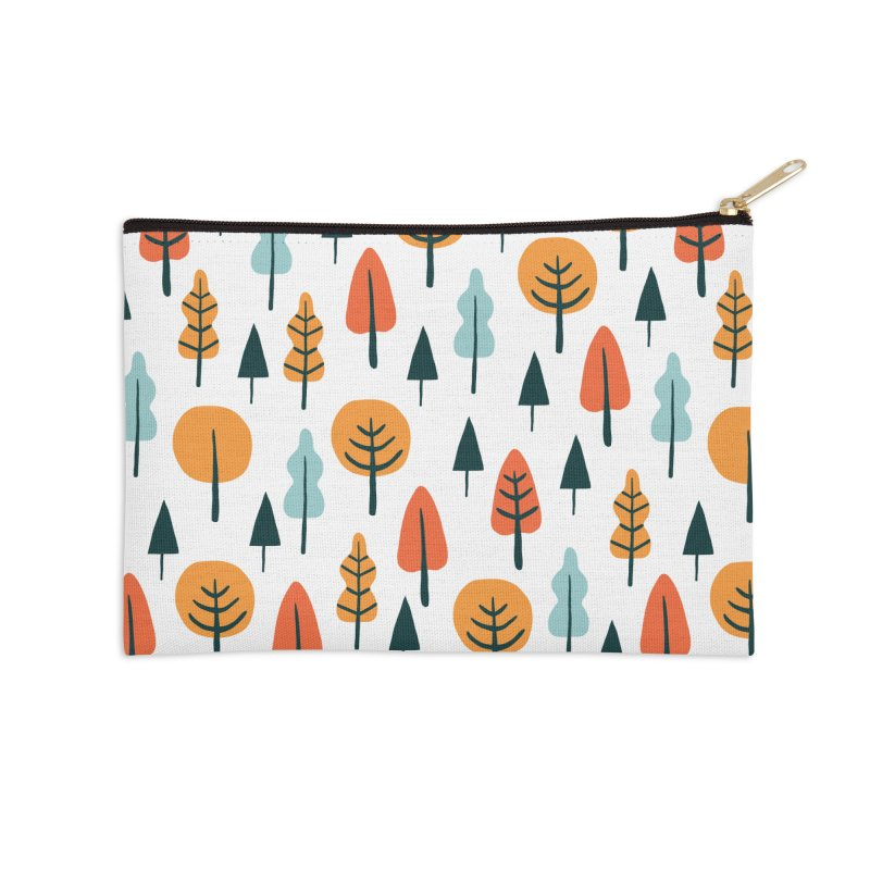 Fancy Forest  in Zip Pouch by prettyprismatic's Artist Shop