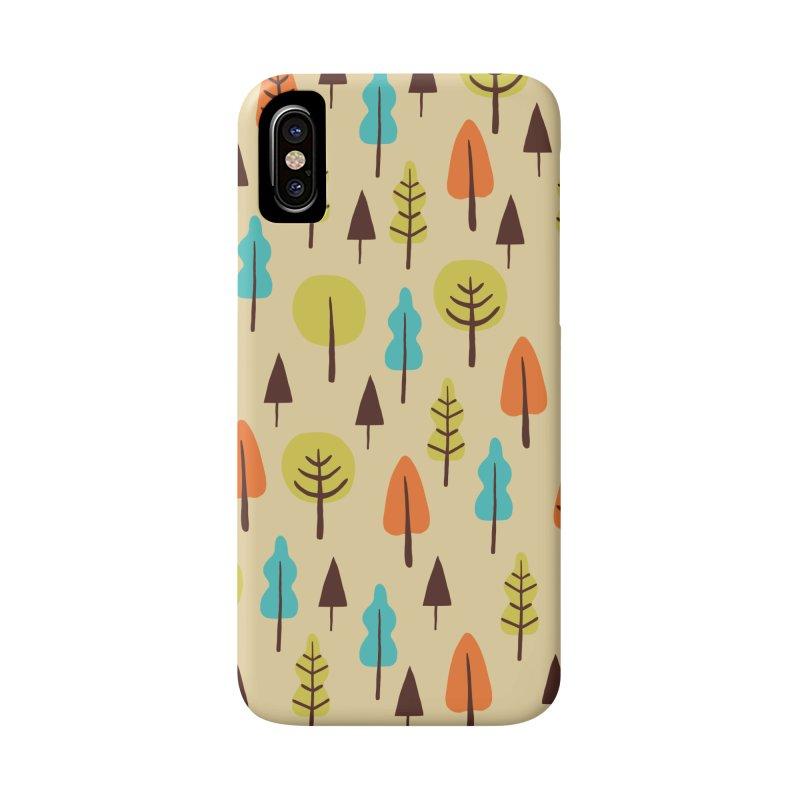 Fancy Forest - Retro Colors Accessories Beach Towel by prettyprismatic's Artist Shop