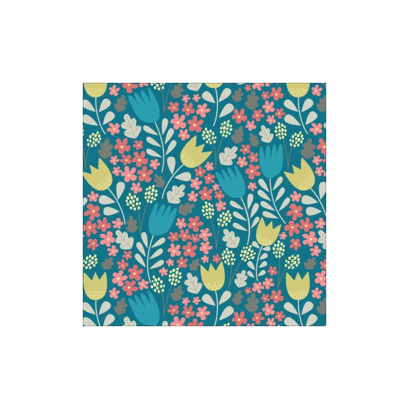 Meadow - Teal by prettyprismatic's Artist Shop