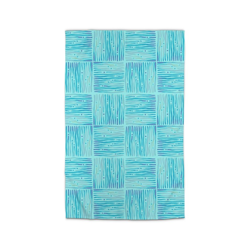 Watercolor Coastal Current Pattern Home Rug by prettyprismatic's Artist Shop