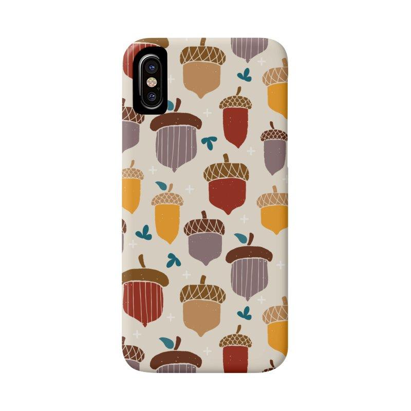 Autumn Acorns Accessories Phone Case by prettyprismatic's Artist Shop