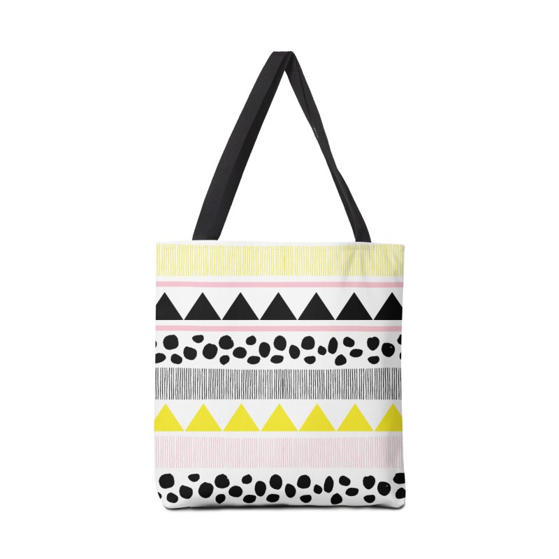 Vibrant Modern Bohemian Accessories Tote Bag Bag by prettyprismatic's Artist Shop