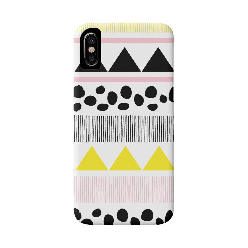 Vibrant Modern Bohemian Accessories Phone Case by prettyprismatic's Artist Shop
