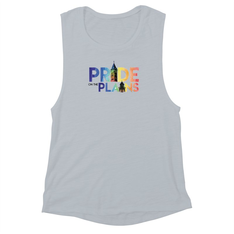 Pride on The Plains logo Women's Muscle Tank by prideontheplains's Artist Shop