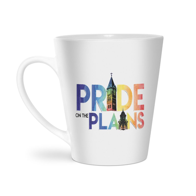 Pride on The Plains logo Accessories Latte Mug by prideontheplains's Artist Shop