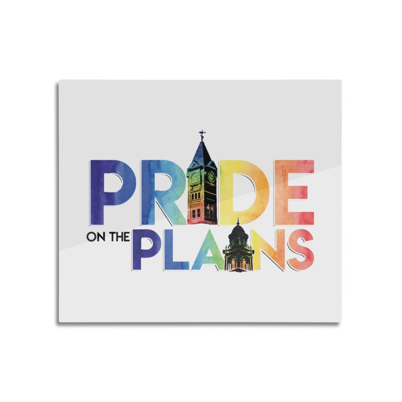 Pride on The Plains logo Home Mounted Acrylic Print by prideontheplains's Artist Shop