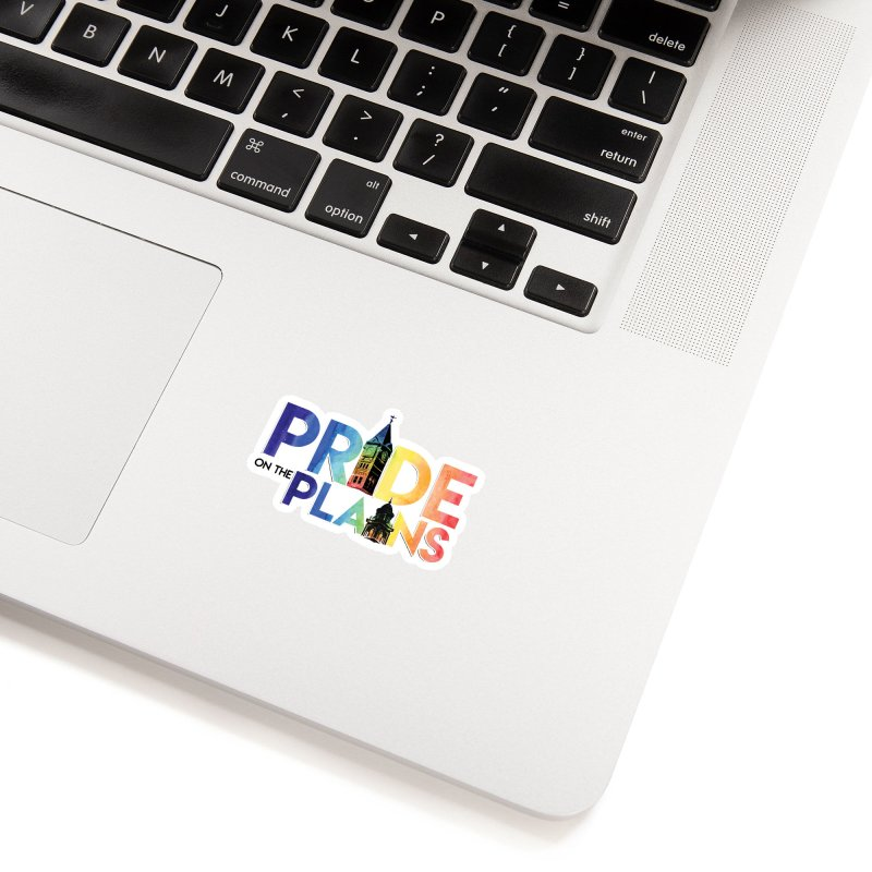 Pride on The Plains logo Accessories Sticker by prideontheplains's Artist Shop
