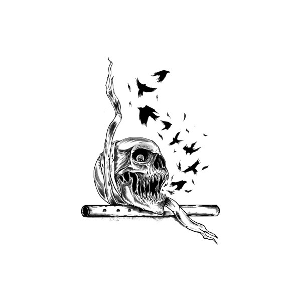 Design for flute skull