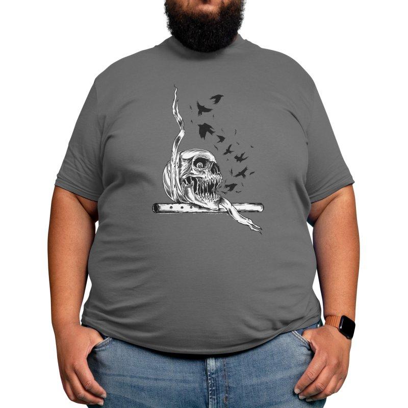 flute skull Men's T-Shirt by primajendi's Artist Shop