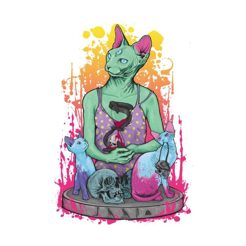 BASTET AND SPHYNX Men's T-Shirt by primajendi's Artist Shop