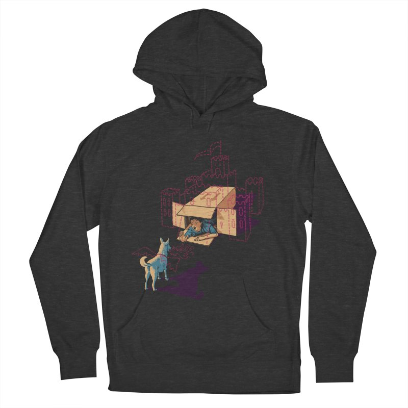 Halt! Who Goes There? Women's French Terry Pullover Hoody by Primary Hughes Artist Shop