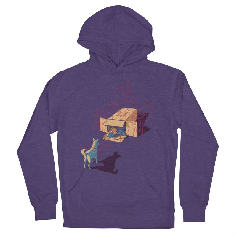 Halt! Who Goes There? Men's French Terry Pullover Hoody by Primary Hughes Artist Shop