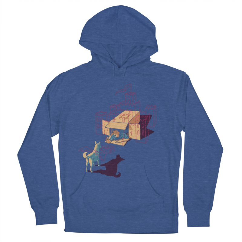 Halt! Who Goes There? Men's Pullover Hoody by Primary Hughes Artist Shop
