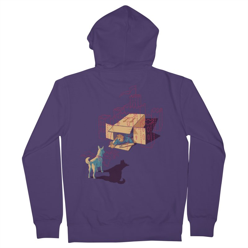 Halt! Who Goes There? Women's Zip-Up Hoody by Primary Hughes Artist Shop