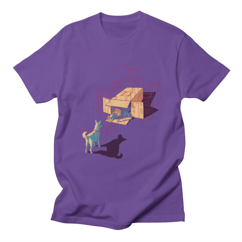 Halt! Who Goes There? Men's T-shirt by Primary Hughes Artist Shop