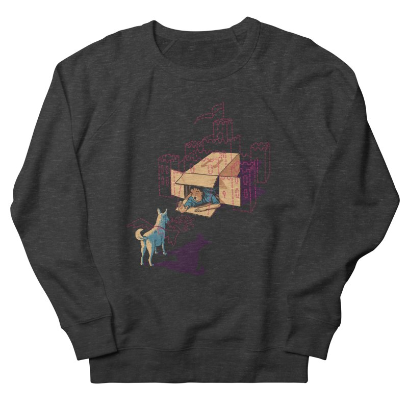 Halt! Who Goes There? Women's Sweatshirt by Primary Hughes Artist Shop