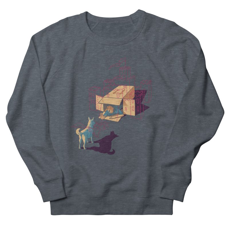 Halt! Who Goes There? Women's French Terry Sweatshirt by Primary Hughes Artist Shop