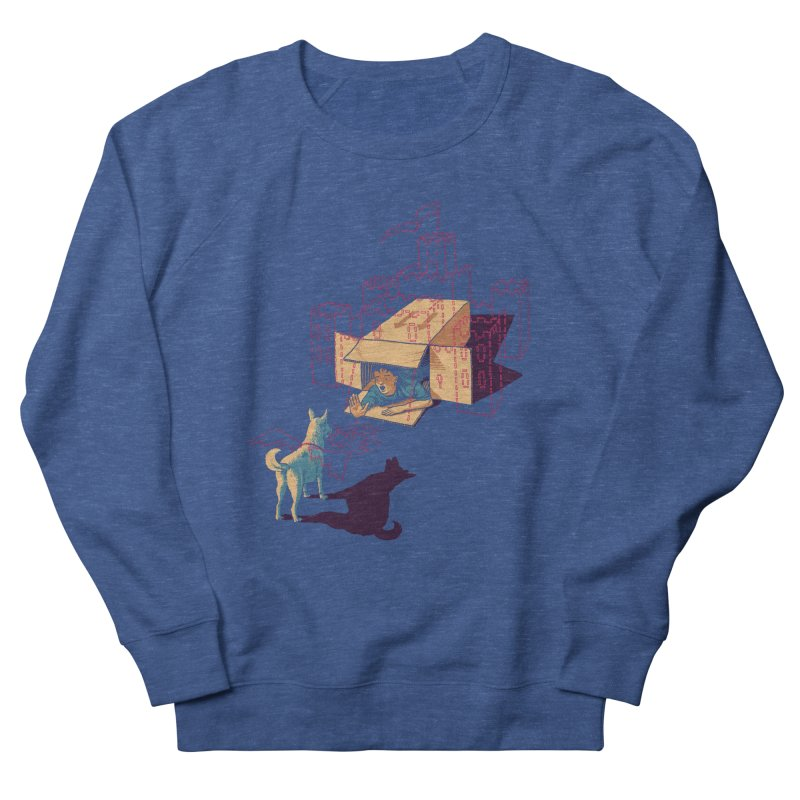 Halt! Who Goes There? Men's Sweatshirt by Primary Hughes Artist Shop