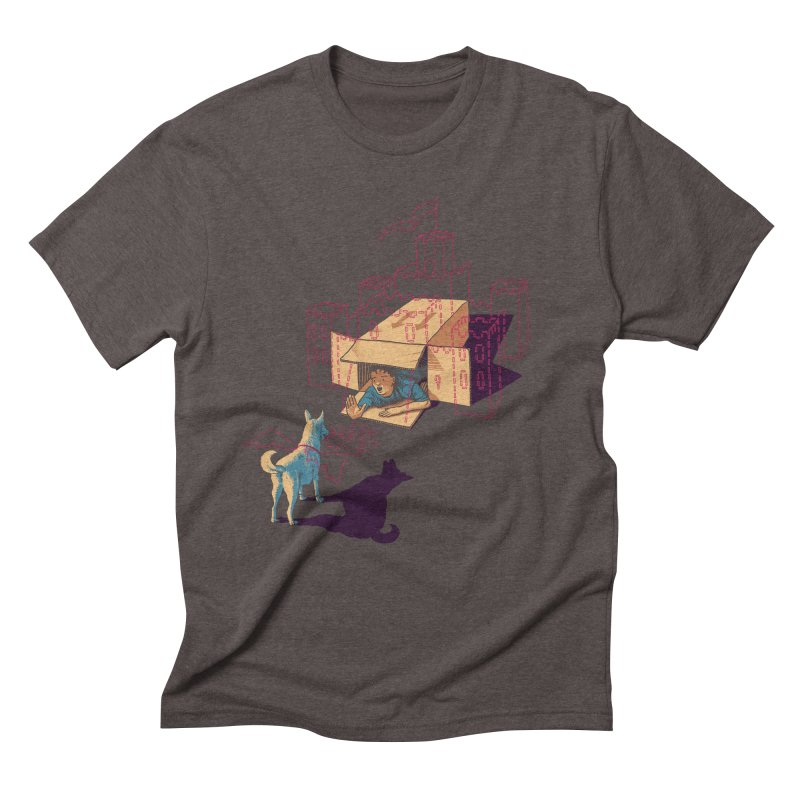 Halt! Who Goes There? Men's Triblend T-Shirt by Primary Hughes Artist Shop