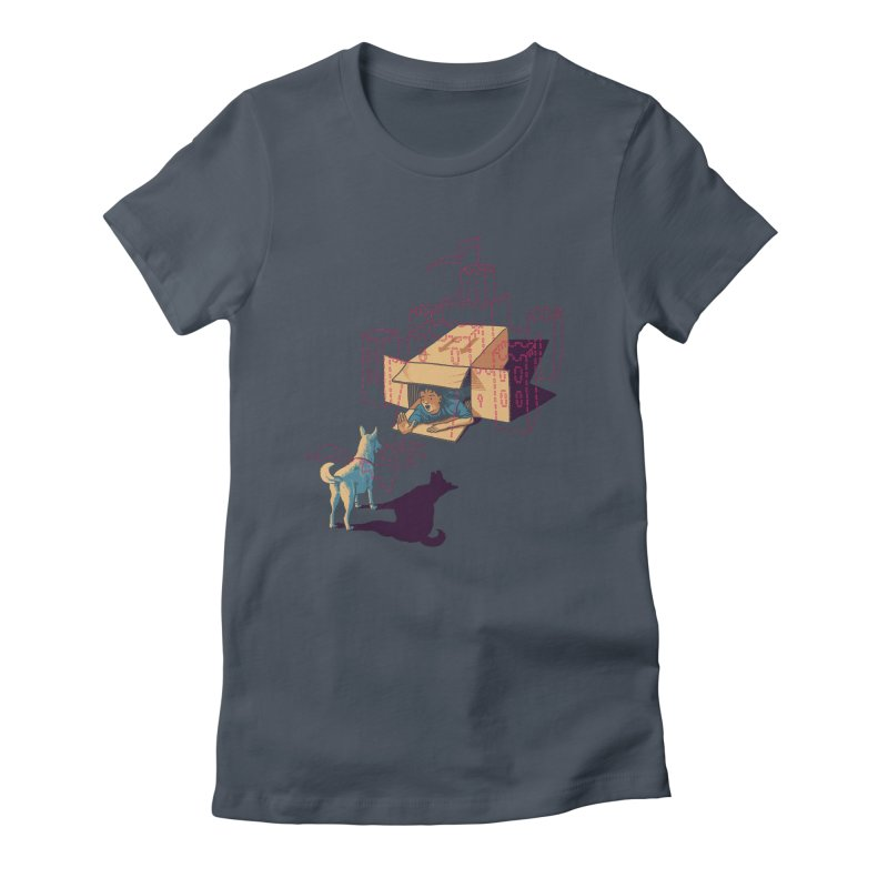 Halt! Who Goes There? Women's T-Shirt by Primary Hughes Artist Shop