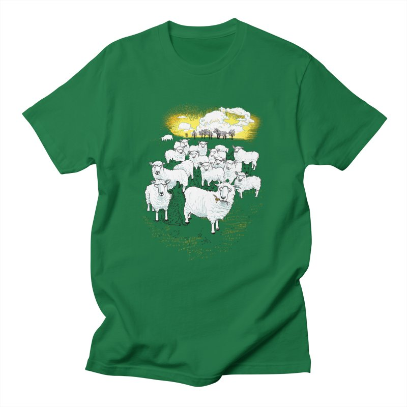 Hide & Sheep Men's T-Shirt by Primary Hughes Artist Shop