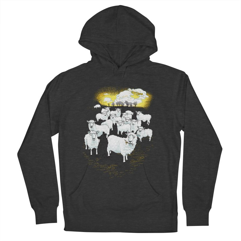 Hide & Sheep Men's Pullover Hoody by Primary Hughes Artist Shop