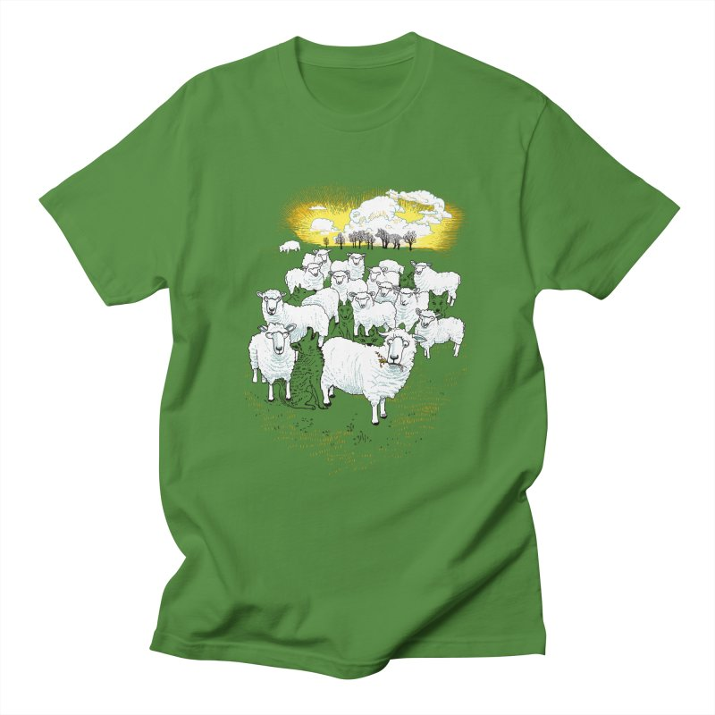 Hide & Sheep Men's Regular T-Shirt by Primary Hughes Artist Shop