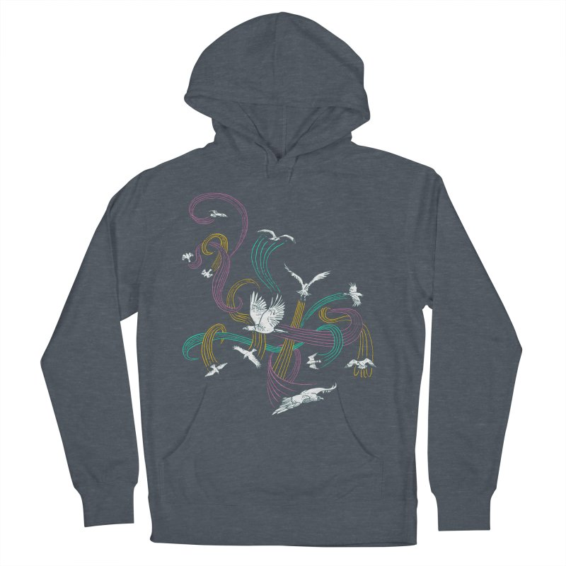 Holding Pattern Women's Pullover Hoody by Primary Hughes Artist Shop