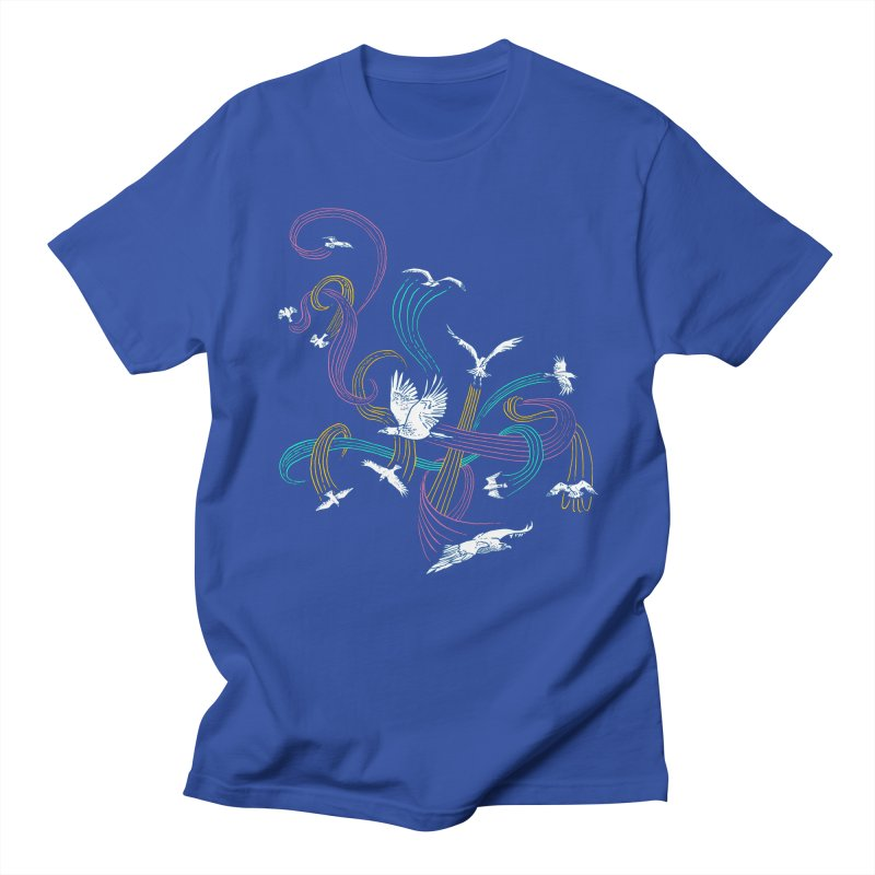 Holding Pattern Men's T-Shirt by Primary Hughes Artist Shop