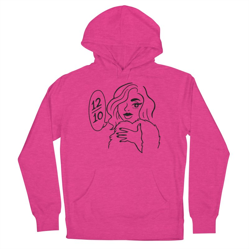 12/10 Women's Pullover Hoody by looks by primcess